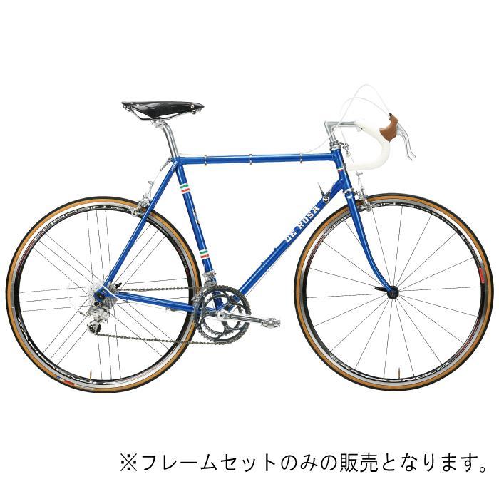 DE ROSA (デローザ)Rabo ラボ Blue Glossyサイズ58 (181-186cm)フレームセット