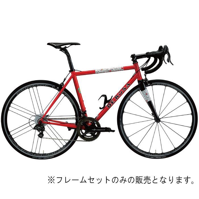 DE ROSA (デローザ)Corum コラム Red REVOサイズ44SL (165-170cm)フレームセット