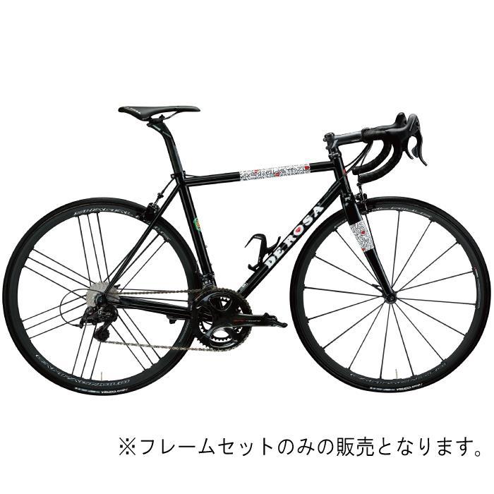 DE ROSA (デローザ)Corum コラム Black REVOサイズ56SL (185-190cm)フレームセット