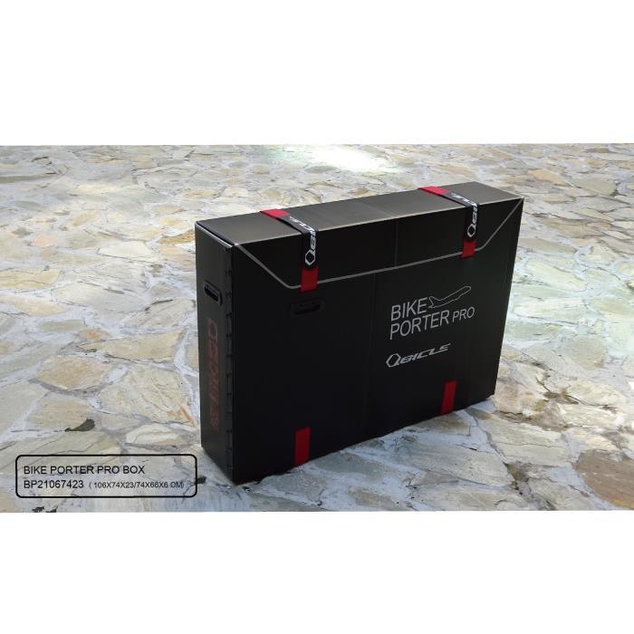 Qbicle(キュービクル)バイクポーターPROプロサイズ ブラック