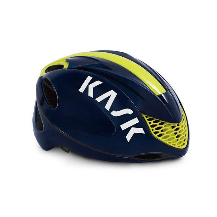 KASK(カスク)2019モデル INFINITY ブルー/イエロー FLUO サイズL ヘルメット