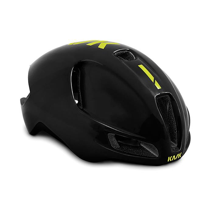 KASK(カスク)2019モデル UTOPIA ブラック/イエロー FLUO サイズL ヘルメット