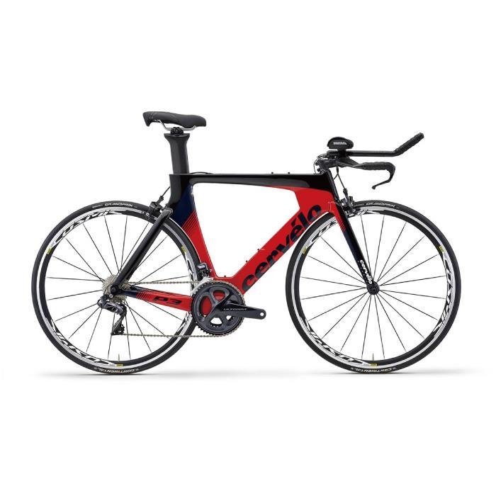 Cervelo (サーベロ)2019モデル P3 ULTEGRA R8050 ブラックサイズ54 (175-180cm)ロードバイク