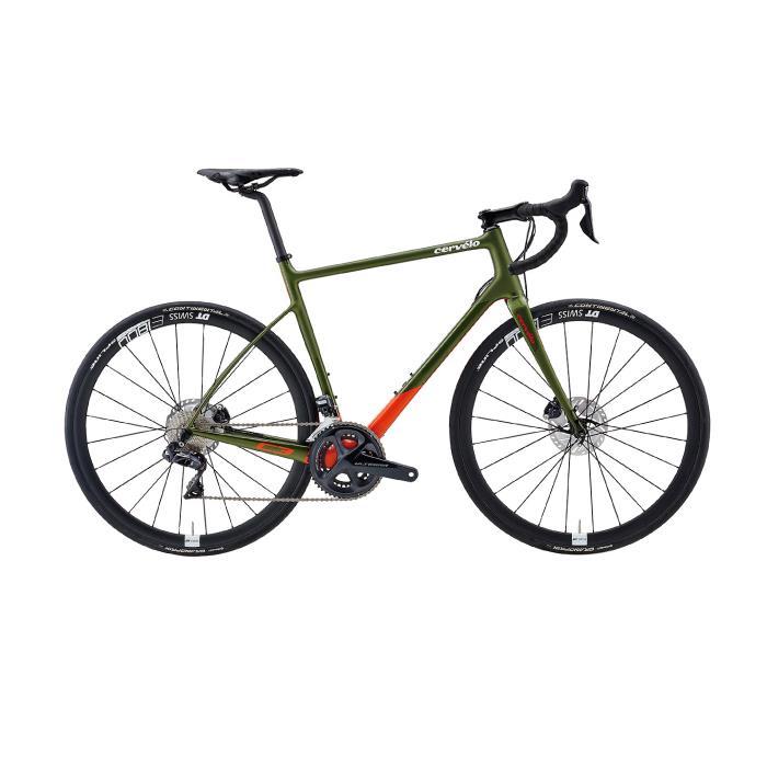 Cervelo (サーベロ)2019モデル C3 ULTEGRA R8070 オリーブサイズ48 (165-170cm)ロードバイク
