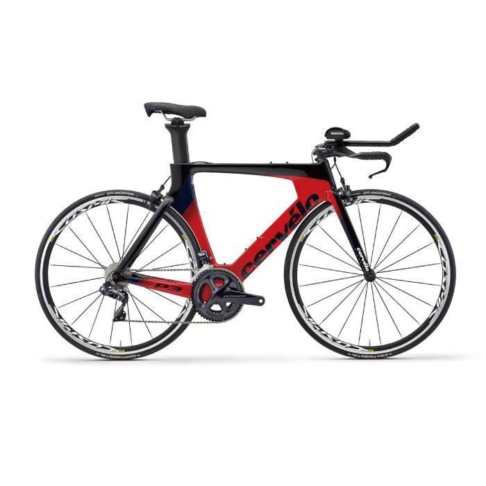 Cervelo (サーベロ)2019モデル P3 ULTEGRA R8000 ブラックサイズ54 (175-180cm)ロードバイク