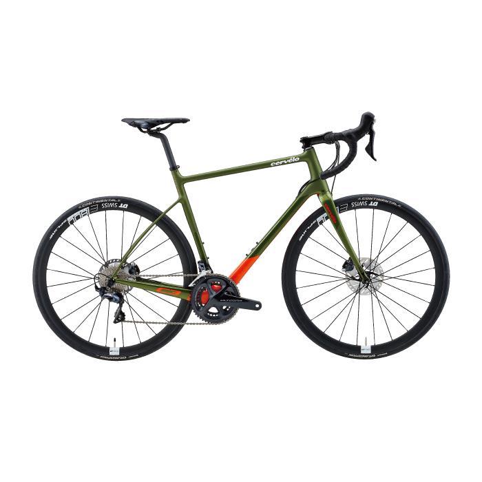 Cervelo (サーベロ)2019モデル C3 ULTEGRA R8020 オリーブサイズ48 (165-170cm)ロードバイク