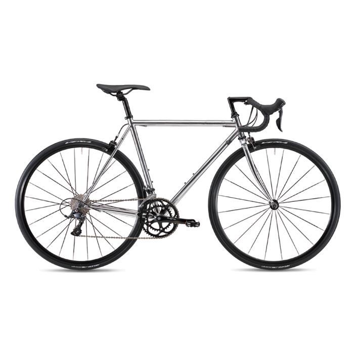 【限定特価】 FUJI (フジ) 2019モデル BALLAD ロードバイク OMEGA クローム サイズ52 OMEGA (168-172cm) BALLAD ロードバイク, 学校教材ネットショップ:abb4cfe3 --- alumni.poornima.org