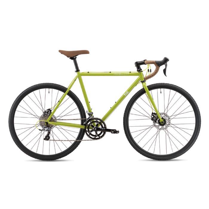FUJI (フジ) 2019モデル FEATHER CX+ ブラウズグリーン サイズ52 (172.5-177.5cm) ロードバイク