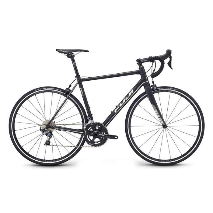FUJI (フジ) 2019モデル ROUBAIX 1.1 マットブラック/クローム サイズ52 (170-175cm) ロードバイク