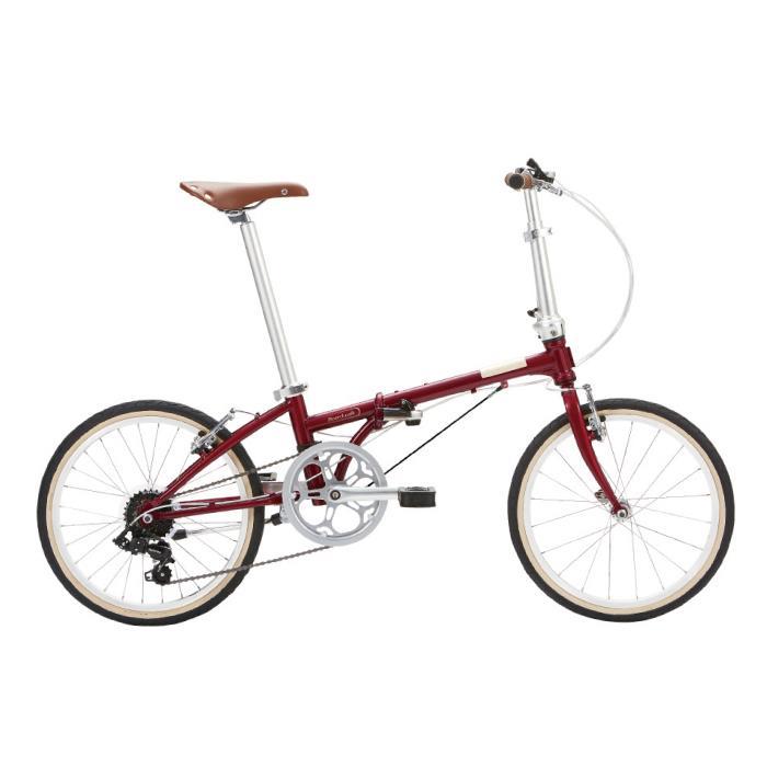 DAHON (ダホン) 2019モデル Boardwalk D7 ボルドー 折りたたみ自転車
