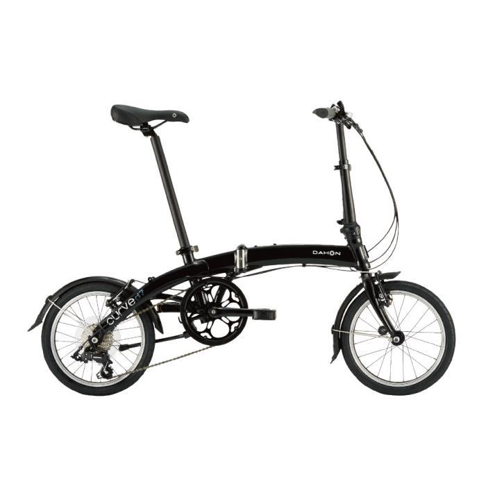 DAHON (ダホン) 2019モデル Curve D7 オブシディアンブラック 折りたたみ自転車