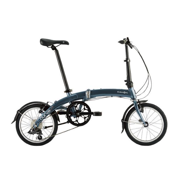 DAHON (ダホン) 2019モデル Curve D7 スティールグレー 折りたたみ自転車