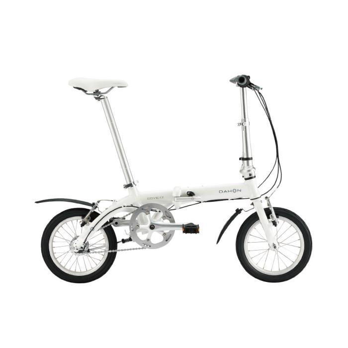 DAHON (ダホン) 2019モデル Dove i3 パールホワイト 折りたたみ自転車