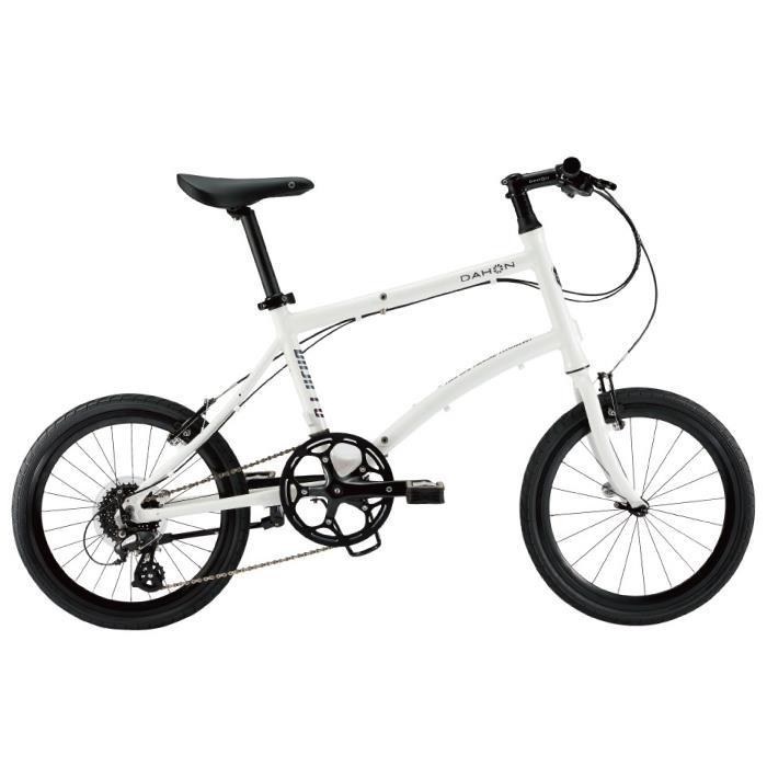 【最安値挑戦】 DAHON (ダホン) 2019モデル Dash P8 フロスティホワイト 折りたたみ自転車, becosme af324d04