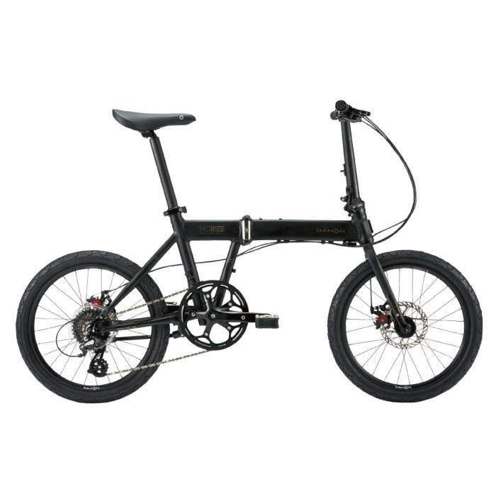 DAHON (ダホン) 2019モデル Horize Disc ドレスブラック 折りたたみ自転車