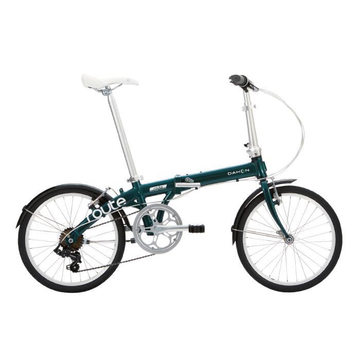 新品?正規品  DAHON (ダホン) 2019モデル Route フォレストグリーン 折りたたみ自転車, 滝野町 3521bd6d