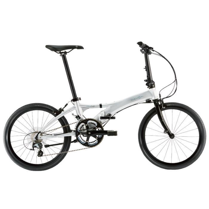 DAHON (ダホン) 2019モデル Visc EVO ブライトシルバー 折りたたみ自転車