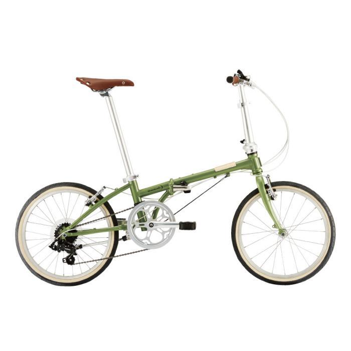 DAHON (ダホン) 2019モデル Boardwalk D7 グリーンティー 折りたたみ自転車