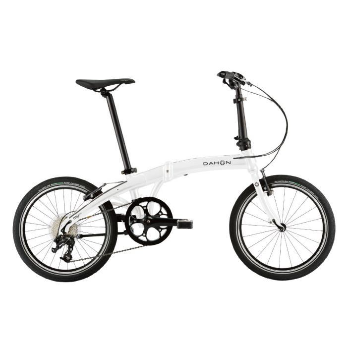 美しい DAHON (ダホン) 2019モデル Mu D9 アイスホワイト 折りたたみ自転車, トナー本舗 a1749f4a