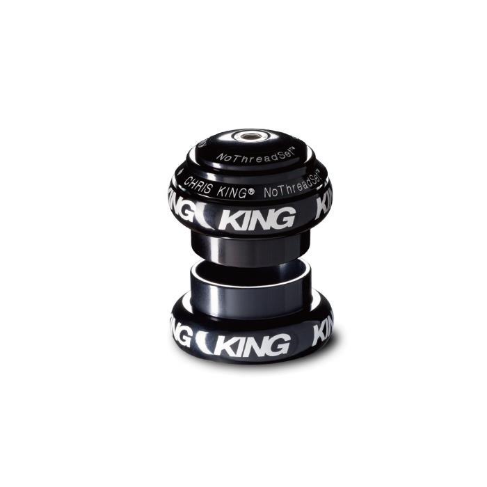 Chris King (クリスキング) NOTHREADSET 1-1/8 Grip Lock グリップロック BOLD BLACK ヘッドパーツ