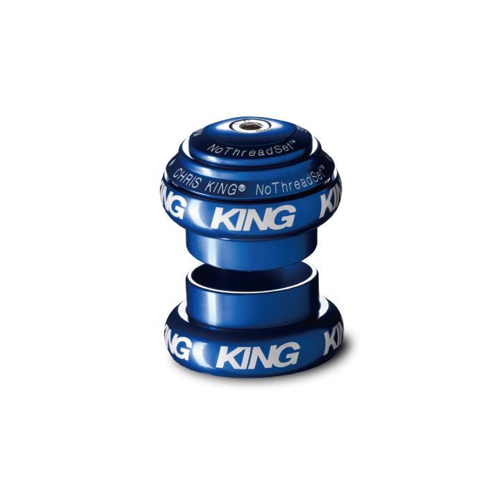Chris King (クリスキング) NOTHREADSET 1-1/8 Grip Lock グリップロック BOLD NAVY ヘッドパーツ