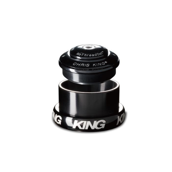 Chris King (クリスキング) INSET8 1-1/8 1-1/4 EXT 44mm Grip Lock グリップロック BLACK ヘッドパーツ