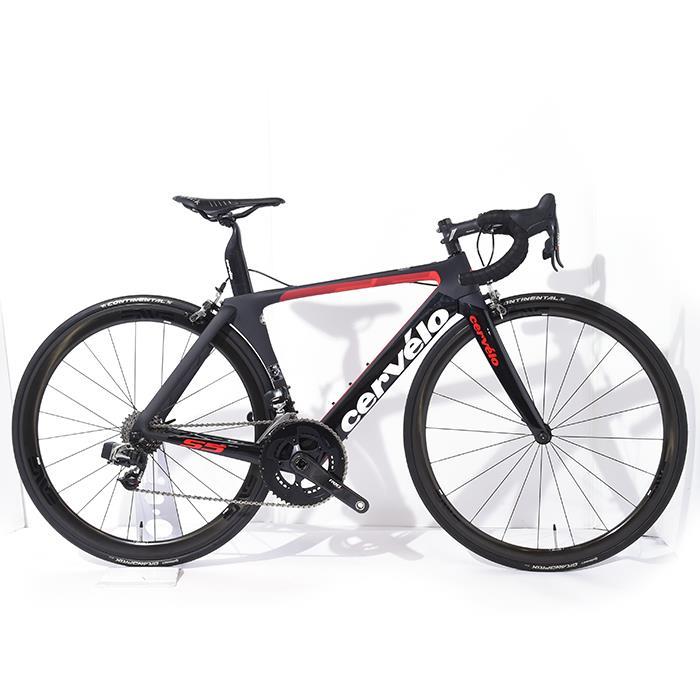 ロードバイク Cervelo (サーベロ) 2018モデル S5 Sram RED eTAP 11S サイズ48 (167-172cm)【アウトレット】