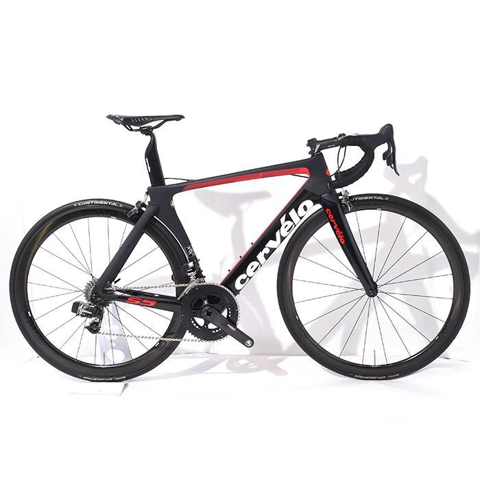 ロードバイク Cervelo (サーベロ) 2018モデル S5 Sram RED eTAP 11S サイズ54 (175-180cm)【アウトレット】