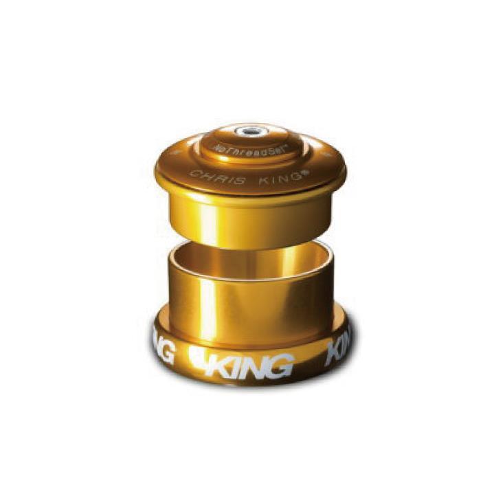Chris King (クリスキング) INSET5 49mm 1.5 Grip Lock グリップロック GOLD ヘッドパーツ