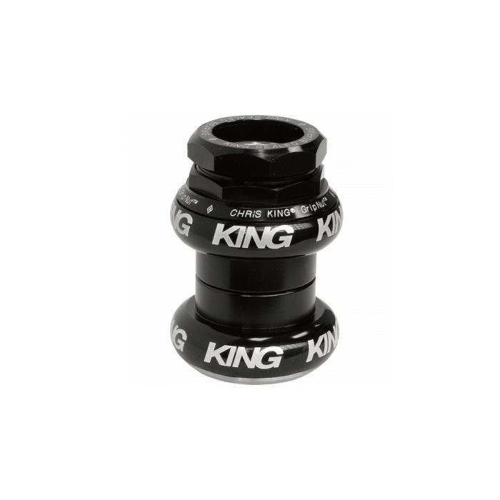 Chris King (クリスキング) GripNut 1-1/8 OS BLACK BOLD ヘッドパーツ