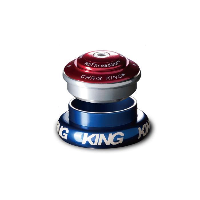 Chris King (クリスキング) INSET7 1-1/8 1.5 EXT 44mm Grip Lock グリップロック SILVER ヘッドパーツ