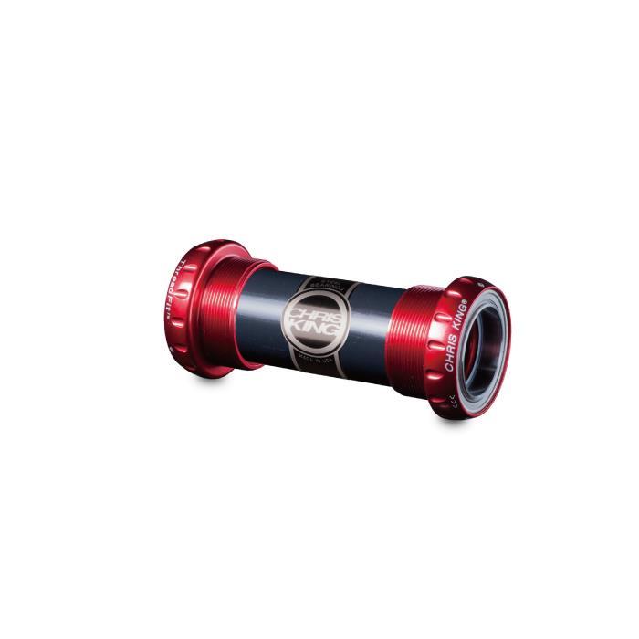 【WEB限定】 Chris (クリスキング) King CERAMIC (クリスキング) ThreadFit24 RED CERAMIC RED ボトムブラケット, カー用品直販店 D-BOX:55579c5d --- supercanaltv.zonalivresh.dominiotemporario.com