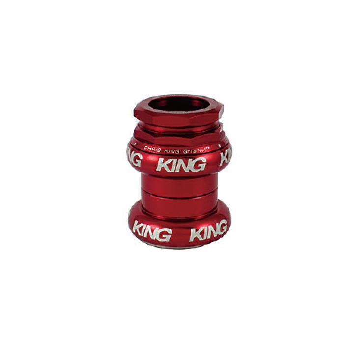 Chris King (クリスキング) GripNut 1-1/8 OS RED BOLD ヘッドパーツ
