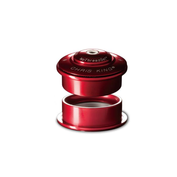 Chris King (クリスキング) INSET4 49mm Grip Lock グリップロック RED ヘッドパーツ