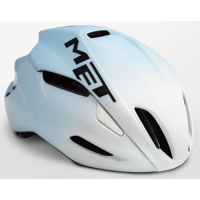 MET(メット) MANTA HES マンタ ホワイト/ライトブルー サイズM(54/58cm) ヘルメット