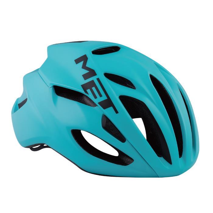 MET(メット) RIVALE HES リヴァーレ マイアミグリーン サイズM(54/58cm) ヘルメット