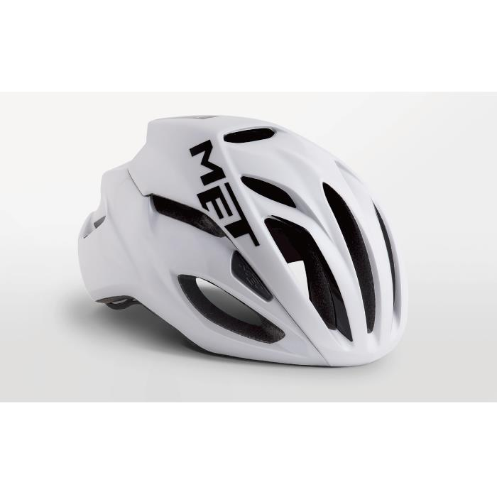 MET(メット) RIVALE HES リヴァーレ ホワイト サイズM(54/58cm) ヘルメット