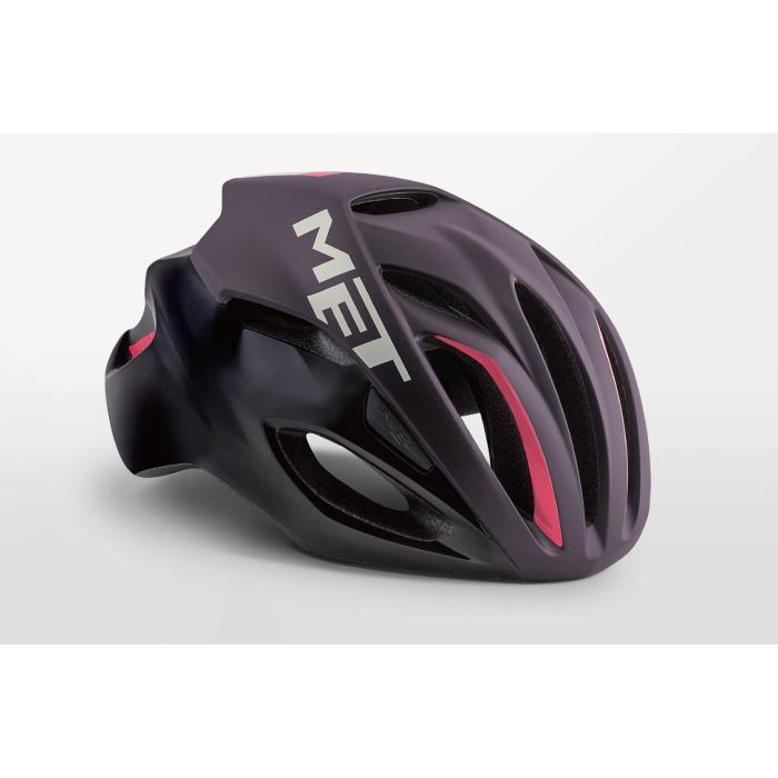 MET(メット) RIVALE HES リヴァーレ ディープパープル/ブラック サイズM(54/58cm) AF ヘルメット