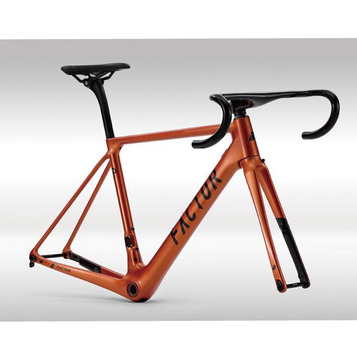 FACTOR(ファクター) O2 オレンジ サイズ46(165-170cm) フレームセット
