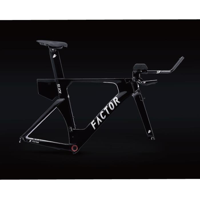 FACTOR(ファクター) SLICK TT ブラック サイズL(170-180cm) フレームセット