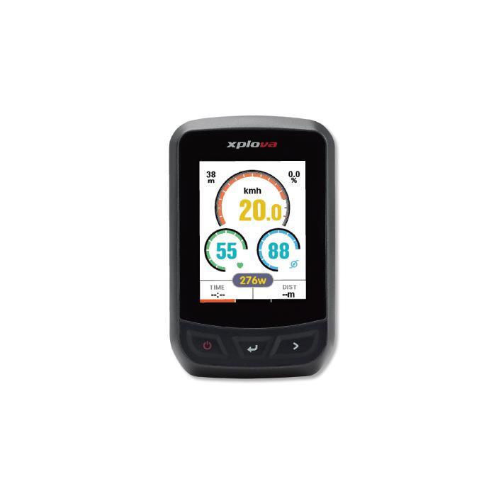 XPLOVA (エクスプローバ) X3 GPS サイクリングコンピューター
