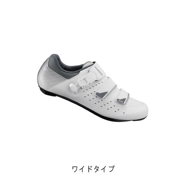 SHIMANO (シマノ) RP3 ホワイト ワイドタイプ サイズ40(25.2cm) ビンディングシューズ