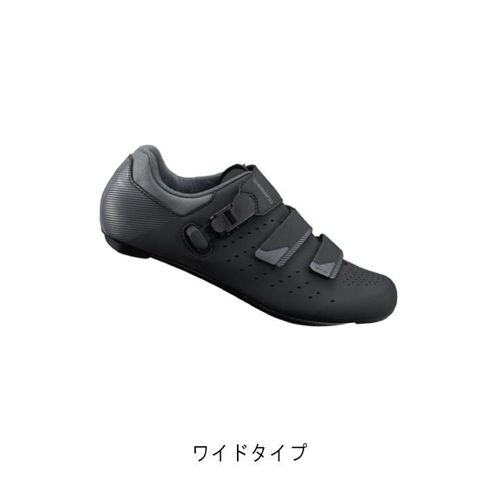 SHIMANO (シマノ) RP3 ブラック ワイドタイプ サイズ38(23.8cm) ビンディングシューズ