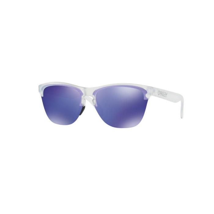 OAKLEY (オークリー) FROGSKINS LITE Mat Clear/Violet Iridium アイウェア