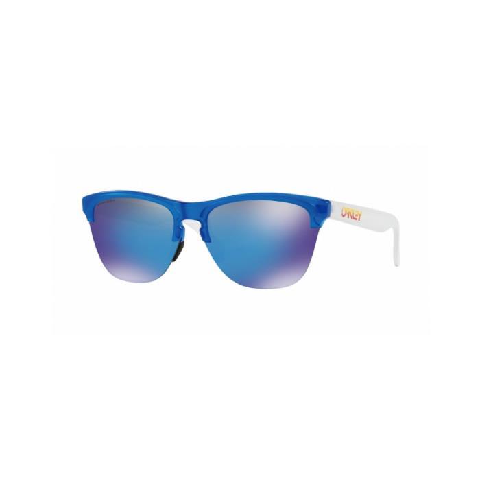 OAKLEY (オークリー) FROGSKINS LITE Mat Translucent Sapphire/Prizm Sapphire アイウェア