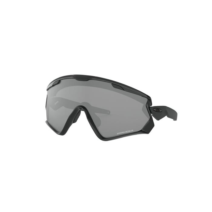 OAKLEY (オークリー) WIND JACKET 2.0 Polished Black/Prizm Black アイウェア