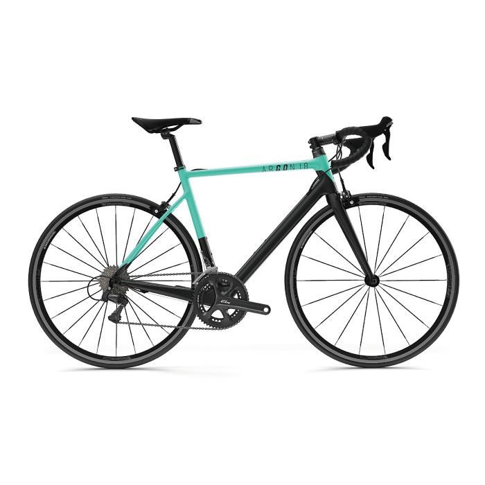 ARGON18 (アルゴン 18) 2019モデル GO! ゴー ブラック/グロスミント 105-5800 サイズ XXS(162-167cm)ロードバイク