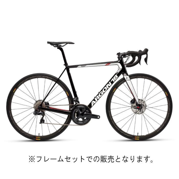 ARGON18 (アルゴン 18) 2019モデル Gallium Pro Disc ブラック/グロスホワイト サイズ S(172-177cm)フレームセット