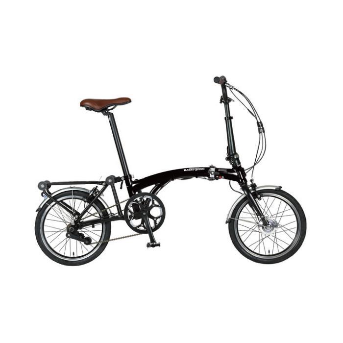 HARRY QUINN(ハリークイーン) PORTABLE E-BIKE AL-FDB160E ブラック 折畳 電動自転車