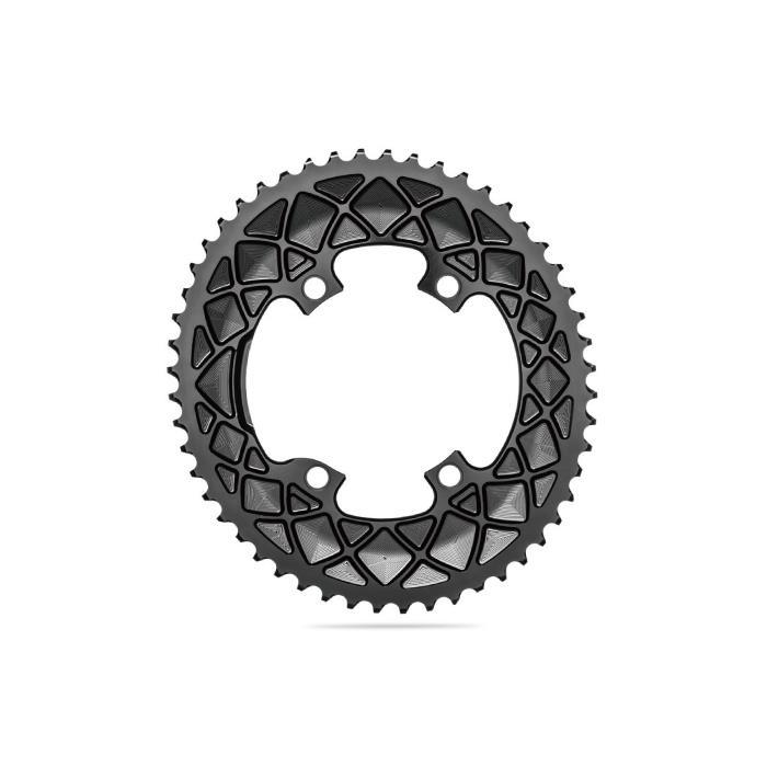 Absolute Black(アブソリュートブラック) Oval ROAD 52T R9100/R8000 ブラック チェーンリング